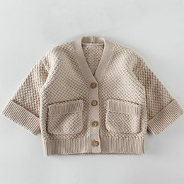 a10c8701 Autumn Baby Girls Cardigan Sweaters Spring Newborn Boys Cotton Sweater Coat  Children Knitted Toddler Kids Winter Casual Clothes boys knit sweater for  sale