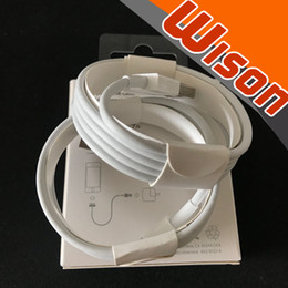 Wholesale apple iphone phone charger - 10pcs free shipping Original OEM quality A+++++ phone charger cable ip 5 6 7 8 1M 3ft USB Data Sync Charger Cable with Retail packaging.