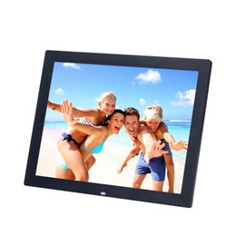 definition electronic Coupons - 15 Inch TFT Screen LED Backlight High-Definition Digital Photo Frame Electronic Album Picture Music Video Porta Retrato Digital