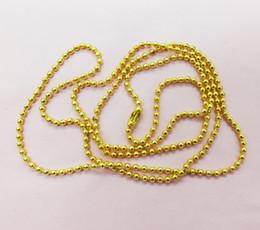 Consegna gratuita! W-3949 Bulk 100pcs / lot catena di cristallo dei monili di tono dell'oro di 2.4mm (65cm) da opals verde braccialetto messicano fornitori