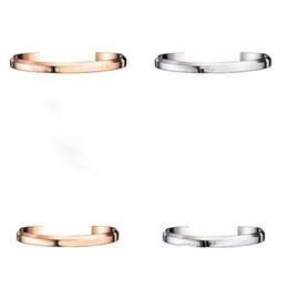 vaso grossisti Sconti Dropshipping Nuovo braccialetto DW Bracciale in oro rosa e argento Bracciale per donne e uomini NO Pacchetto originale + certificato