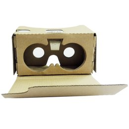2016 HOT SALE New For Google Cardboard V2 3D Glasses VR Valencia Quality Max Fit 6Inch Phone + Headband Virtual glasses NICE от