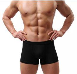bulge biancheria intima bianca degli uomini sexy Sconti Mutande morbide 5pcs / lot del sacchetto del Bulge del nuovo degli uomini sexy della biancheria intima nera bianca di modo degli uomini