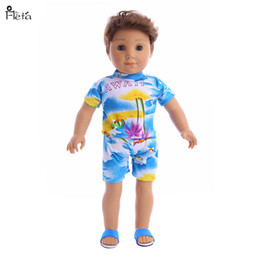 """Wholesale beach doll - Fleta New Beach clothing Style suit fit 43cm Baby Born Zapf or 18"""" american girl and logan Doll accessories"""