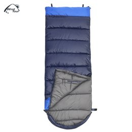 Wholesale Hand Spliced - Thickened Winter Warm Sleeping Bag Cotton Split Joint Sleeping Bag Hand Arm Free Sleep Bag Outdoor Camping Travel Hiking