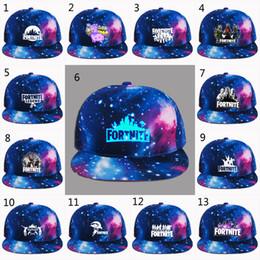 ciel des enfants promotion 22 style fortnite ciel etoile cap homme casquette de baseball snapback chapeaux - ciel bleu fortnite