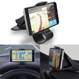 Wholesale Gifts Stands - Hot Selling Universal Car Dashboard Cell Phone GPS Mount Holder Stand HUD Design Cradle New Gift