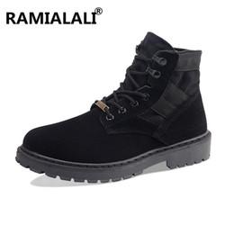 недорогие зимние сапоги для мужчин Скидка Высококачественные мужские зимние  ботинки Высокие верхние ботинки для лодыжки Antiskid f0111281538
