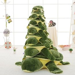Wholesale turtles stuffed toys - Sea Turtle Plush Toy 15.6in.-35in. Adorable Plushie Tortoise Toy Simulated Stuffed Turtle Toy for Girlfriend Kids