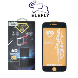 wholesale iphone tempered glass Australia - Latest Product For iPhone 6 7 8 X Top Quality Tempered Glass Screen Protector 9H 6D With Free Shipping