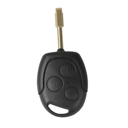 Wholesale focus remote key - Car 3Buttons Replacement Keyless Remote Fob Key Shell Case for Focus Festiva Ka Mondeo Transit Connect