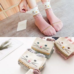 Wholesale Thick Socks For Women Winter - Lovely Cats Socks Students Sports for The Stockings In Autumn and Winter Thick Wholesale