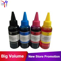 Kit d'encre pour teinture Teinture CISS 4 x 100 ml / couleur pour 564 364 178 862 950 PhotoSmart B8550 C6300 C6380 C6383 Imprimante jet d'encre rechargeable ? partir de fabricateur