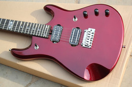 2019 dessus d'érable flammé à la guitare Musicman JP guitare électrique, New Factory + Flame top john Petrucci signature music man electric guitar --15-6-25-- dessus d'érable flammé à la guitare pas cher