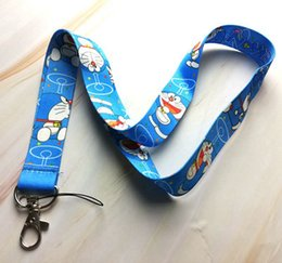 doraemon key Coupons - New 30 pcs cartoon Doraemon Cello Phone Key Chain Neck Strap Keys Lanyards gift X-209