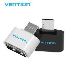 otg cabo mini Desconto VENTION Mini Cabo Micro USB Otg Para USB OTG Adaptador Para Samsung HTC Xiaomi Sony LG Android Card adaptador