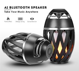 Wholesale Professional Speakers - Innovative Products Professional 5W LED Flame Fire Light Wireless Speakers 5W 2000mAh LED Flame Light Bluetooth Speaker Waterproof Outdoor