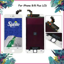 Для iPhone 8 8 Plus ЖК-дисплей класса A ++ Qualtiy с 3D сенсорным экраном дигитайзер Ассамблеи Ремонт Замена для телефона 8 черный белый от