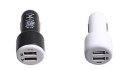 Siyah / Beyaz Satış Yeni 2.1A Çıkış 5 V 2 Port USB Şarj Araba Oto 6.3 * 3 * 3 cm Evrensel Hızlı Şarj Akıllı Telefon Pad GPS PSP MP3 MP4 MP5 Için Fit nereden gopro için led ışık tedarikçiler