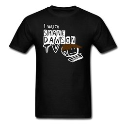 tvs für billig Rabatt Shane Dawson Tv Männer T-shirt 3d Männer Hot Günstige Kurzarm T-shirt O Neck T-shirt Kurzarm Chinesischen stil
