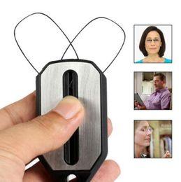 llave de visión Rebajas 6 Colores Clip Nariz Gafas de Lectura Lupa Mini Gafas de Lectura Plegables de Las Mujeres Fácil de Llevar Con Llavero Caja CCA10533 60pcs