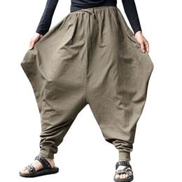 4746c4e02fe7 disegno di pantaloni baggy Sconti Pantaloni alla moda da uomo stile  irregolare Pantaloni stile cavallo basso