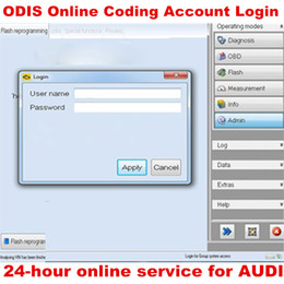 Compte de codage en ligne ODIS Connexion une fois Service pour Audi 4.2.3 pour l'interface de diagnostic VAS VAS5054A 4.3.3 VAS6154 ? partir de fabricateur