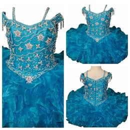 vestidos de baile corto cupcake Rebajas 2019 Vestidos de spaghetti Vestidos de cupcake Infantiles Ocasión especial Faldas para niños pequeños Tutu Cumpleaños Fiesta de graduación Puffy Organza en niveles Formal