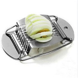 Wholesale utensils for kitchen - Stainless Steel Wires Boiled Egg Slicer Section Cutter Creative Mushroom Tomato Cutters For Kitchen Useful Cooking Tool Utensil 8 39jd Z