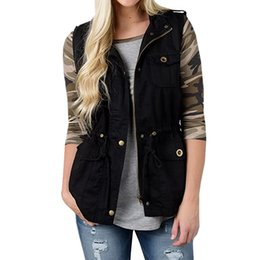57b1346ea233a spring vests for women Coupons - New Spring Women's Vest Solid  Single-breasted Sleeveless Jacket