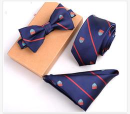 2019 cravate binden 12 Stil Schlank Krawatte Set Männer Fliege und Einstecktuch Bowtie Krawatte Cravate Taschentuch Papillon Mann Corbatas Hombre Pajarita günstig cravate binden