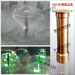 Fontes de cobre on-line-Espessamento do cogumelo de cobre bocal hemisfério bico de água apresenta fonte de baixa tensão fonte cabeça