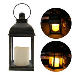 2019 lâmpada em forma de vela Lâmpada em forma de Vela do vintage CONDUZIU a Luz do Sinal Da Chama Para Iluminação Interior Ao Ar Livre Decoração Lâmpada Lâmpada Do Gramado Rua Caminho de Iluminação desconto lâmpada em forma de vela