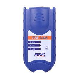 Scanner nexiq on-line-Nova chegada NEXIQ Auto Heavy Duty Scanner Truck ferramenta NEXIQ USB Link melhor do que DPA5 à venda nexiq 125032 usb link DHL Livre