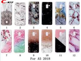 Wholesale Pro Mates - Granite Scrub Marble Stone Soft TPU Case For Samsung A8 2018 Huawei Mate 10 Lite Pro MOTO G6 Plus Sony L1 Redmi 4X Flower Skin Cover Fashion