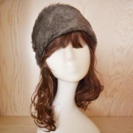 venda de chapéus de peles Desconto Moda Feminina Faux Fur Hat Beanie Inverno Quente Feminino Manter Quente Ocasional Chapéu Luvas de Bolso New Arrival sale boné de pele Bonnet