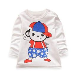 Wholesale Nova Kids Clothes - baby girl clothes 100% cotton print children girl t shirts nova brand kids clothing cartoon white t shirt for girls infant tee
