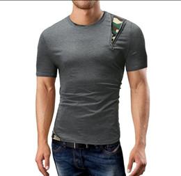 Wholesale gasp bodybuilding - Free shipping Brand Mens muscle T shirt bodybuilding fitness men tops cotton singlets Plus Big size TShirt gasp Short Sleeve Tshirt