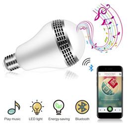 100 PACKS -A19 E26 B22 Ampoule LED avec haut-parleur Bluetooth intelligent et contrôle de l'application RGB Variable de couleur changeante ? partir de fabricateur