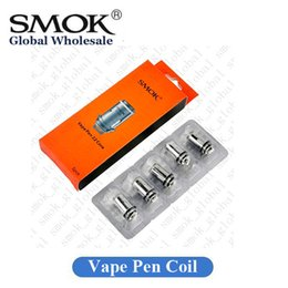 Wholesale Pens Core - Original SMOK Vape Pen 22 Coil Replacement Vape Core Head 0.25ohm 0.3ohm Authentic SmokTech
