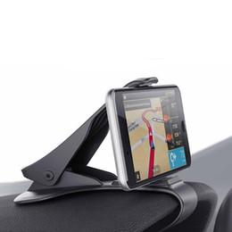 Support durable de support de pince de pince de tableau de bord de voiture noire de nouveau pour des dispositifs mobiles ? partir de fabricateur