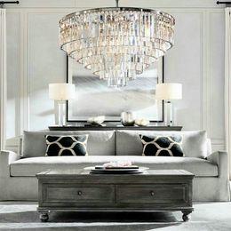 Glanz LED Ring Vintage Loft Glas K9 Kristallleuchter Leuchten Lichter Für  Schlafzimmer Wohnzimmer Küche Günstige Led Kristallringe Kronleuchter