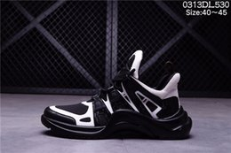 Wholesale Luxury American Shoes - European and American spring and summer over fire sports shoes fashion shoes, men and women brand shoes luxury brand sports leisure shoes si