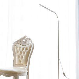 Светодиодный торшер 8 Вт 5-уровневый сенсорный выключатель яркости Современный стоячий свет для гостиной Спальня Офис Чтение пианино Лампа от