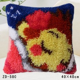 Wholesale Textile Arts - Textile Art Crafts New Arrival Simple Casual Fashion Cushion Cover Animal-Colored Home Decor Sofa Throw Pillow Case Pillowcase 40*40CM
