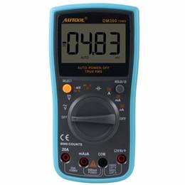 Wholesale multimeter ac voltage - AUTOOL DM300 Autoranging Digital Multimeter 6000 Counts Large LCD Screen Display Multimeter Low Voltage Display AC DC Measurement Tool