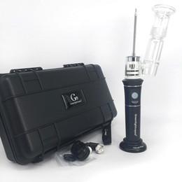 Temperatura dell'olio online-Avviatore vapore cera di alta qualità kit portatile olio dab vaporizzatore h enail henail Plus g9 regolatore di temperatura e chiodo Per cera concentrato