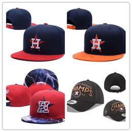 Wholesale Top Hats Sale Cheap - 2018 top Sale Adjustable Houston wholesale price Snapback Hat Thousands Snap Back Hat Basketball Cheap Hat Adjustable men women Baseball Cap