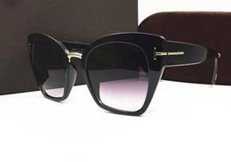 Neue stil beliebte marke cat eye sonnenbrille 553 frauen sonnenbrille platte optischen rahmen sommer im freien uv-schutz mode eyewear mit box von Fabrikanten