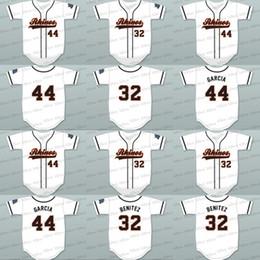 Wholesale Shorts Ass - men youth 44 garcia 32 raffy benitez rhinos white baseball jersey key & peele slap ass